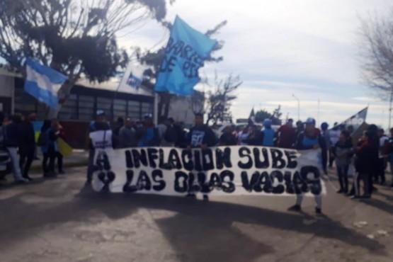 Se sumaron a la marcha nacional de Barrios De Pie.