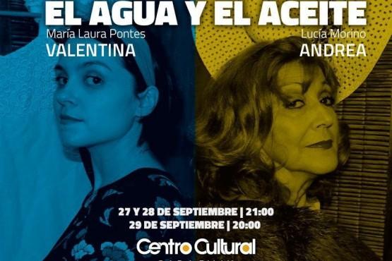 """Joiuen estrena """"El agua y el aceite"""" en el Centro Cultural Rada Tilly"""