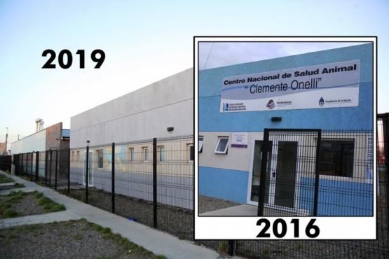 En el edificio del CeNSA funciona (C.G)
