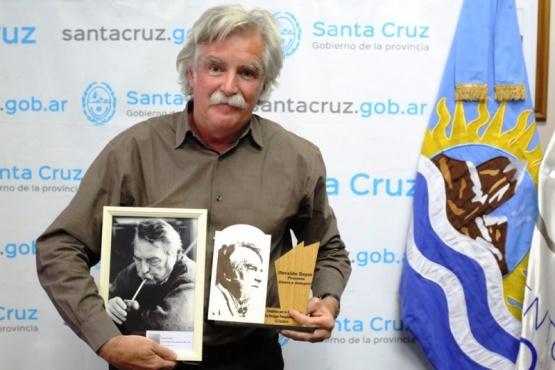 Esteban Bayer, ayer en la Mesa de Huelgas Patagónicas. (Foto: C. González).