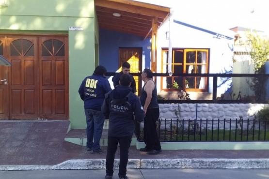 Vivienda allanada por el personal de la División de Investigaciones por infracción al artículo 128 del Código Penal.
