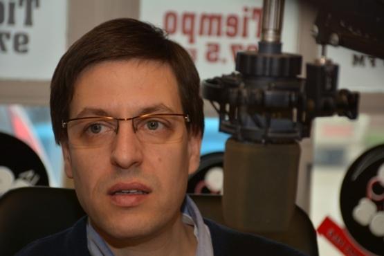 El concejal del FPV, Martín Medvedovsky,