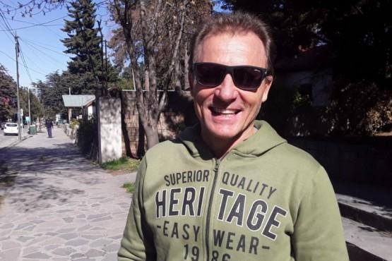 Omar Kovacevich, piloto de Rally esquelense.