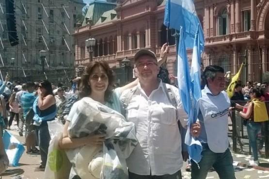Pablo Yapur es candidato a diputado provincial de Juntos por La Rioja.