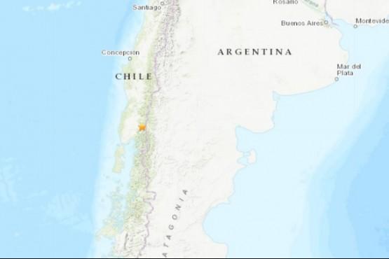 Sismo en Chile afectó a la Patagonia.