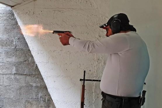 En Pistola se sacaron chispas.