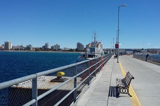 La temperatura primaveral en Puerto Madryn.