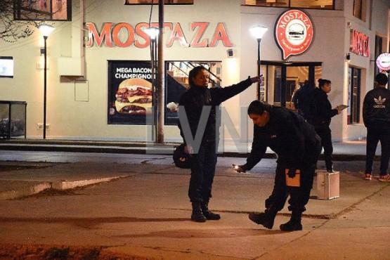 La policía realizó las pericias.