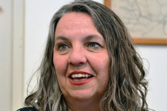 La ministra de la Familia y Promoción Social, Valeria Saunders.