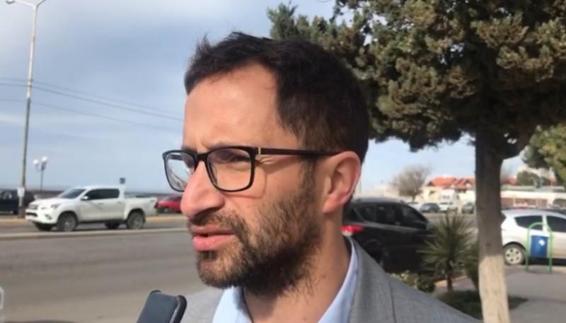 El Secretario de economia y finanzas del municipio de Comodoro Rivadavia, German Issa Pfister.