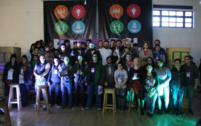 Los participantes de la primera jornada. (C.G)