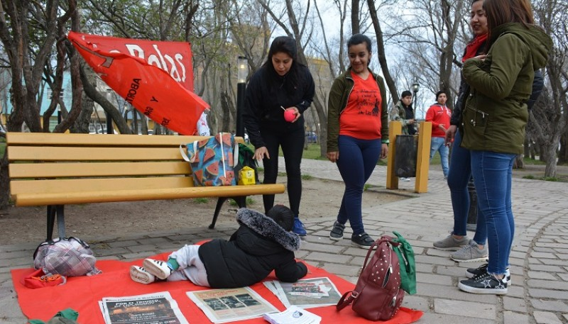Actividad por  el Día de Acción Global por el Aborto Legal. (C.Robledo)
