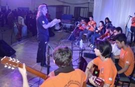 Santa Cruz tuvo representación en el Encuentro de Orquestas