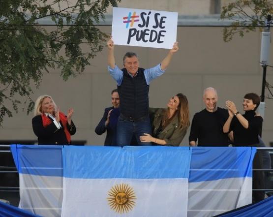 Macri se presentó en la convocatoria.