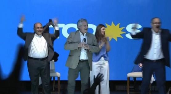 Fernández reemplazó a Cristina.