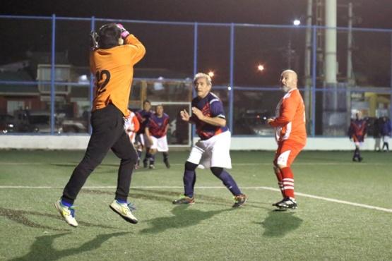 Muchos goles se festejaron el último viernes en la Pino.