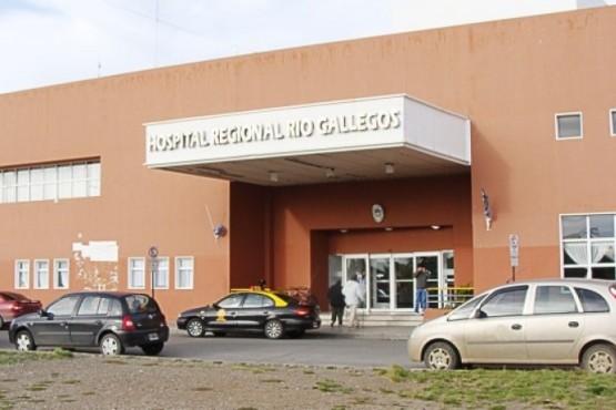 El Hospital Regional de la ciudad Río Gallegos.