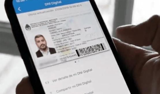 El DNI en el celular tiene validez legal.