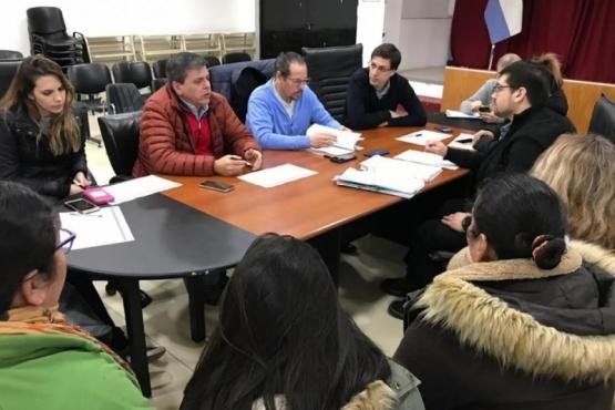 Reunión realizada en el HCD.