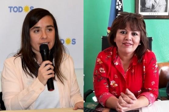 Kiernan y Bilbao, candidatas de Caleta Olivia y Las Heras.