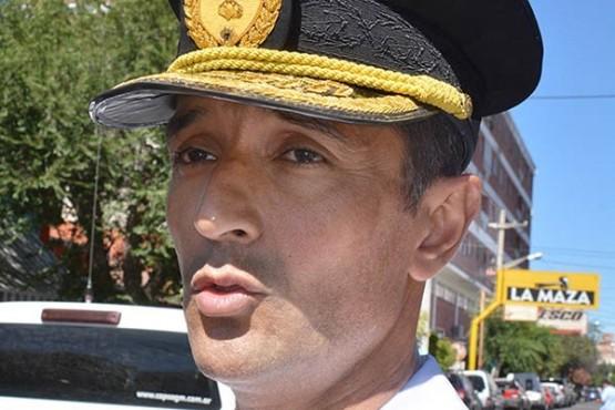 El jefe de la Policía del Chubut habló sobre la denuncia contra un comisario.