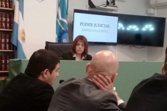 La jueza de garantías Mirta Moreno.