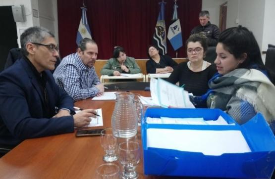 Comisión en el HCD.