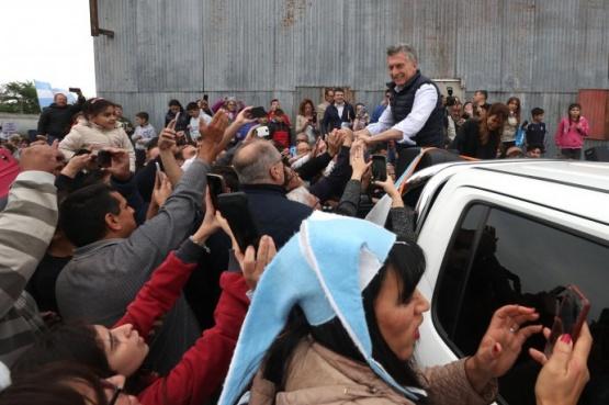 Mauricio Macri en Córdoba.