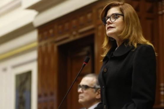 La vicepresidenta renunció a hacerse cargo de la presidencia interina.