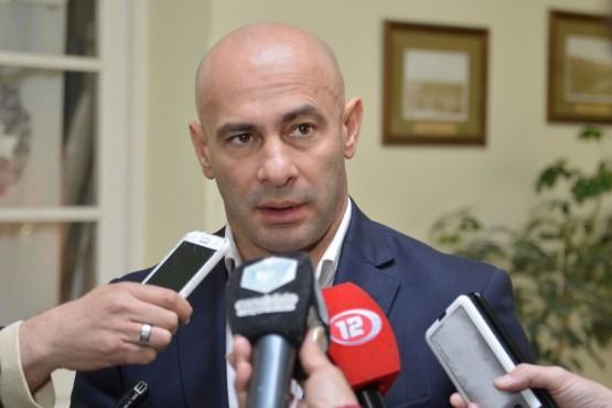 El Ministro Coordinador de Gabinete, Federico Massoni.