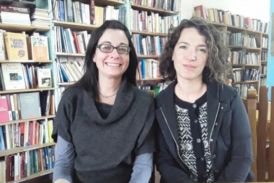 Mariana Sánchez y Emilia Perrone.