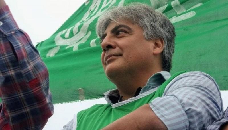 Guillermo Quiroga, referente de ATE Chubut.