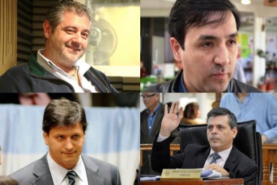 Fadul, Grasso, Gomez Bull y Leguizamón.