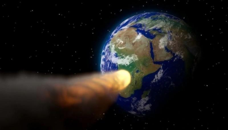Anuncia la posibilidad de asteroides.