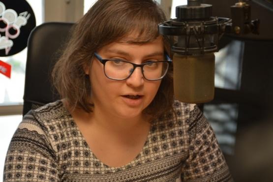 La docente e investigadora, Lic. Romina Behrens (Foto C.R.)