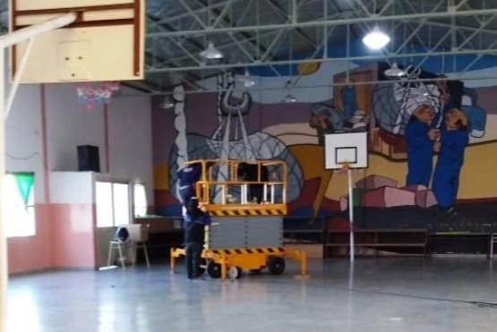 Arreglos en las instituciones educativas de Chubut.