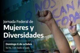Se realiza la Jornada federal de mujeres y diversidades