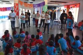 Más de 200 niños participaron de la semana de la Salud Bucal