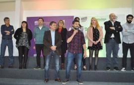 Adriel Ramos presentó la lista de candidatos a Concejales