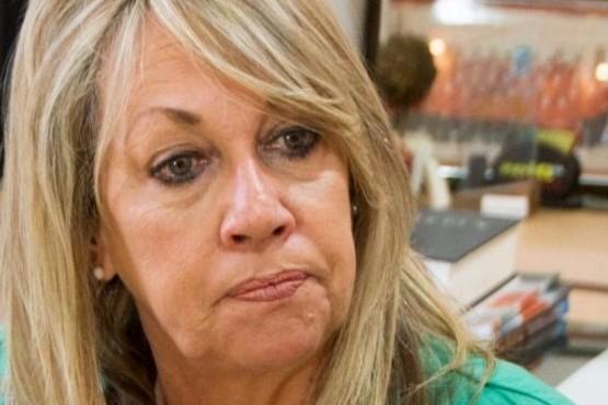 La intendente de Rawson, Rossana Artero.