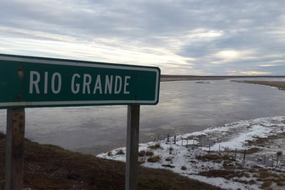 Bajo cero en Río Grande.
