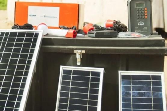 Paneles para energía renovable.