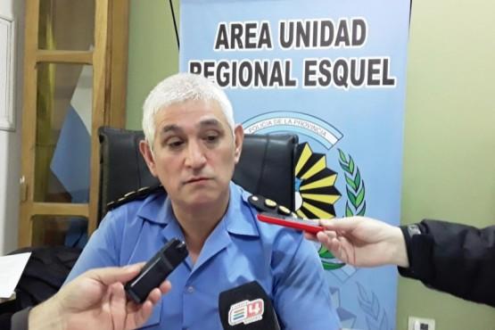 Rodolfo Hess, jefe de la Unidad Regional Esquel.