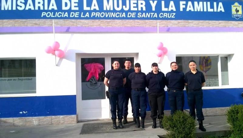La Comisaría de la Mujer y Familia celebró su quinto aniversario.