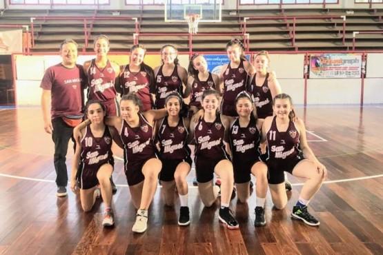 San Miguel deberá viajar a Plottier para jugar las Semis de U-13 Femenino