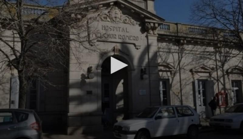 El hospital donde fue asistido el niño antes de fallecer por las heridas.