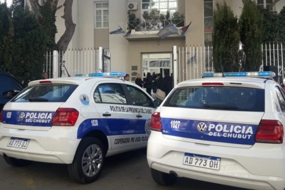 Patrulleros de la Policía de Chubut (Imagen de archivo e ilustrativa)