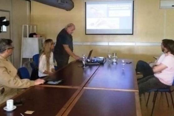 Presentación de monitoreo.