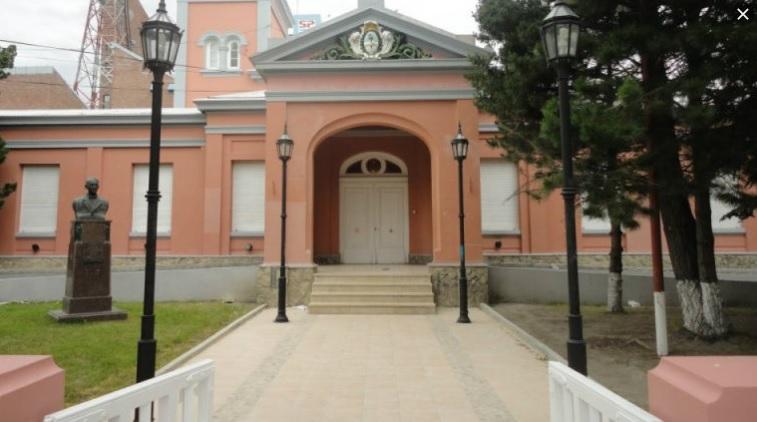 Casa de Gobierno de Santa Cruz.
