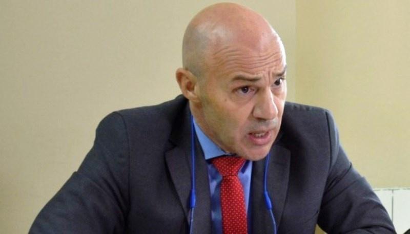 El fiscal Tanarro habló con TiempoSur tras el encuentro.